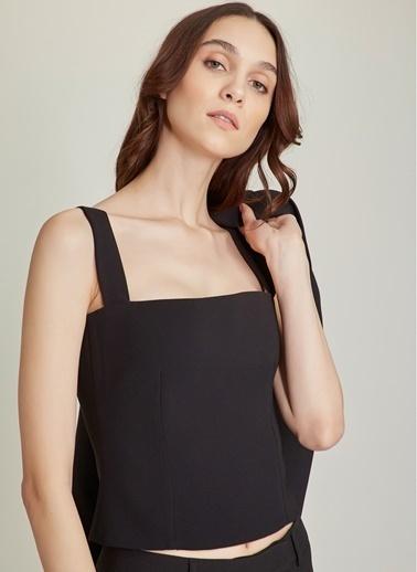 NGSTYLE Askılı Bluz Siyah